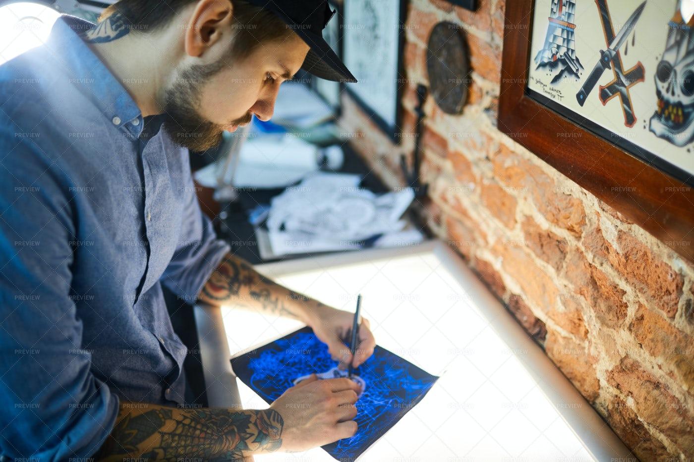 Tattoo Artwork: Stock Photos