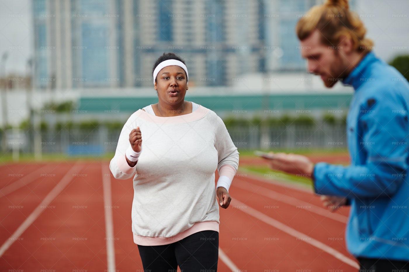 Running Competitor: Stock Photos