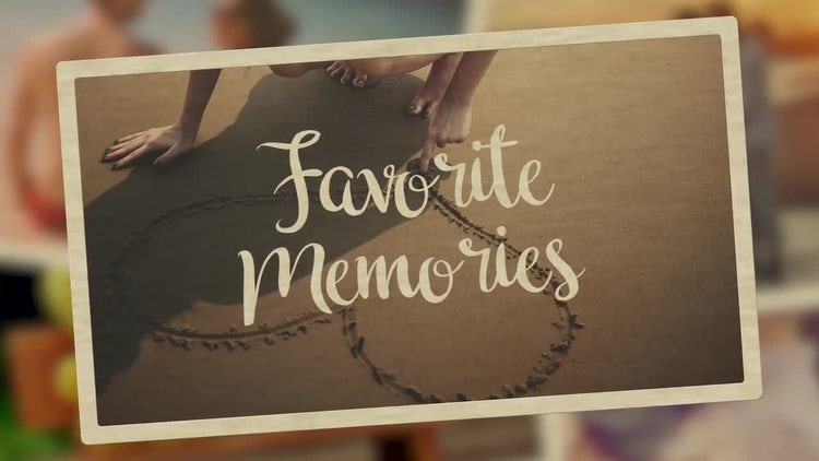 Favorite Memories: Premiere Pro Templates