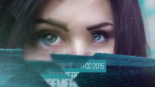 Elegant Slideshow & Glass Transitions: Premiere Pro Templates