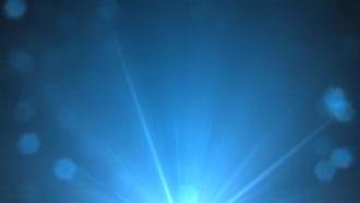 Rising Blue Glints: Motion Graphics