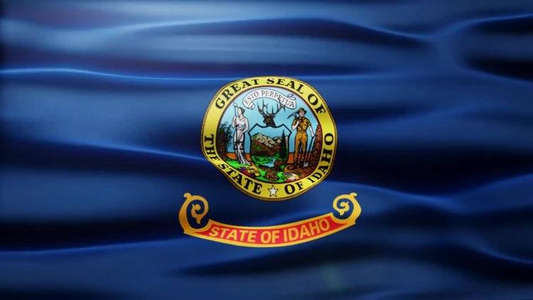 Idaho Flag: Motion Graphics