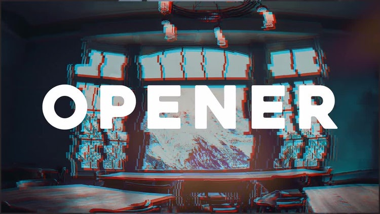 Fast Titles Opener: After Effects Templates