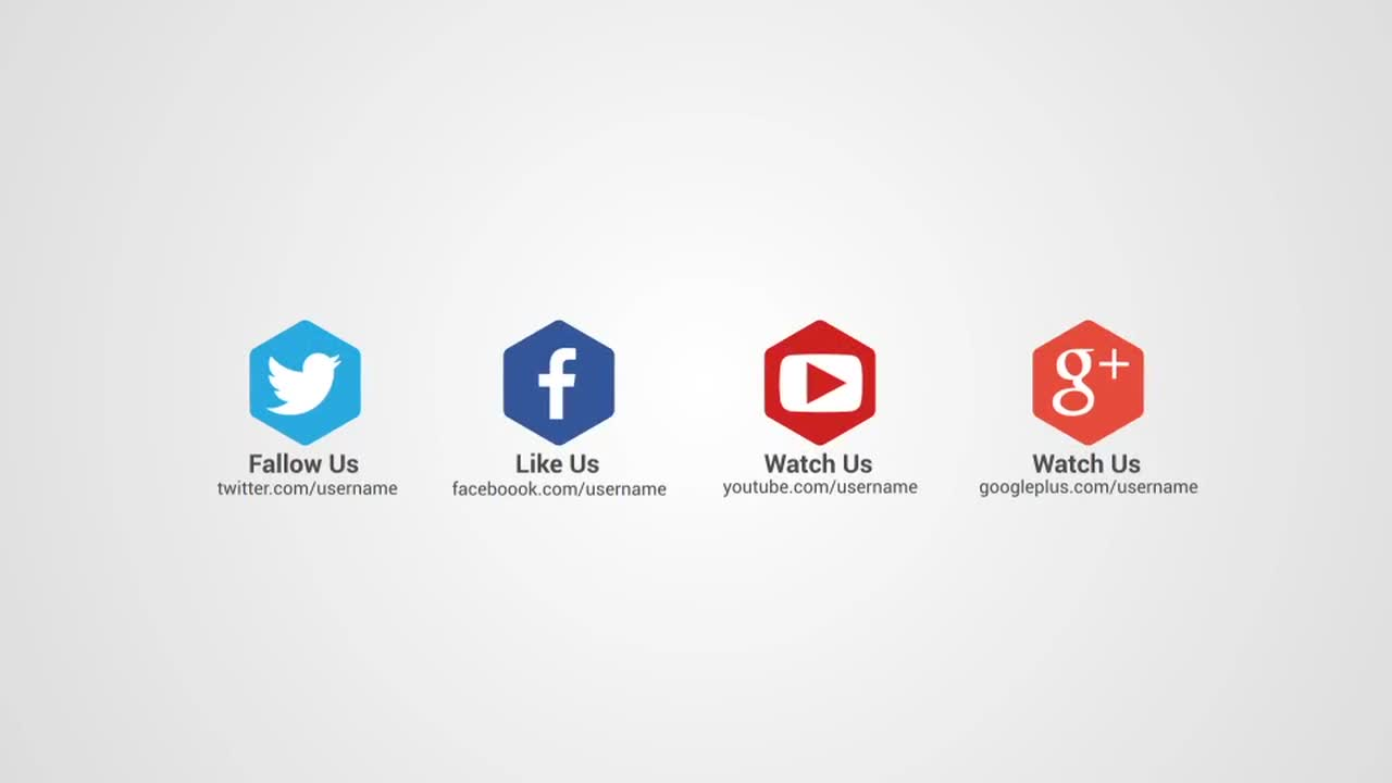 social networking sites templates php - social media intro after effects templates motion array