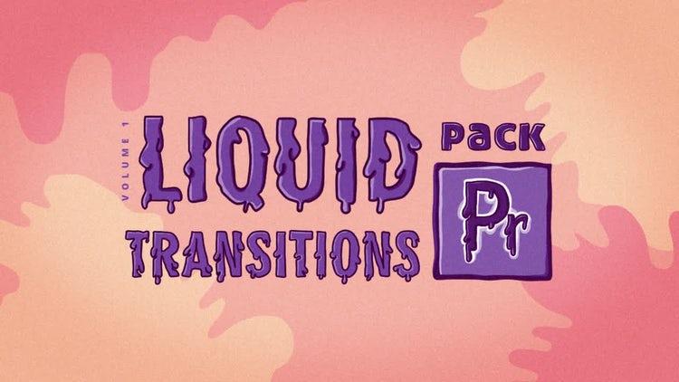 Liquid Transitions Pack: Premiere Pro Templates