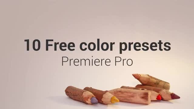 10 Free Color Presets: Premiere Pro Presets