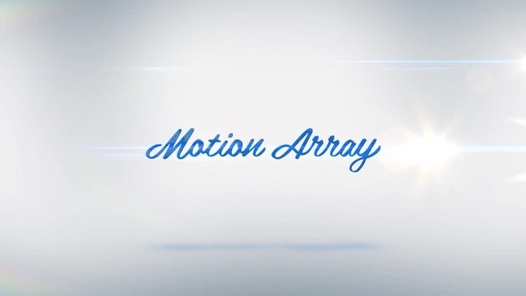 Light Logo Reveal: After Effects Templates