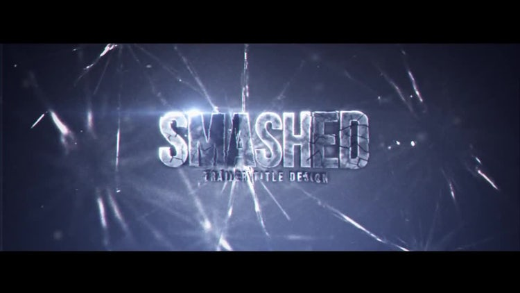 Smashed: After Effects Templates