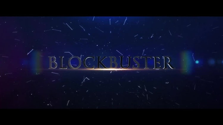 Blockbuster Epic Trailer: After Effects Templates