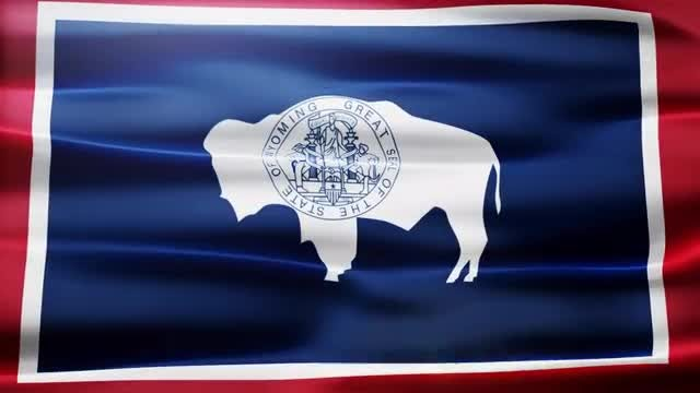 Wyoming Flag: Stock Motion Graphics