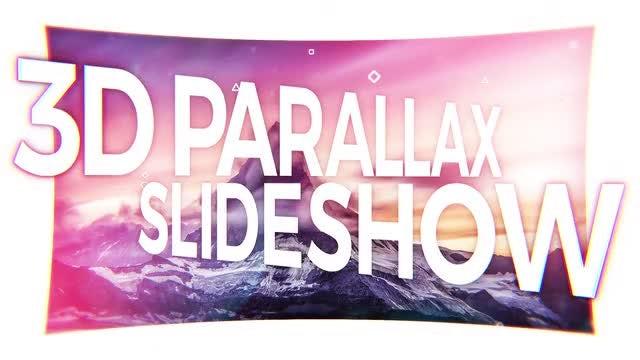 3D Parallax Slideshow: Premiere Pro Templates