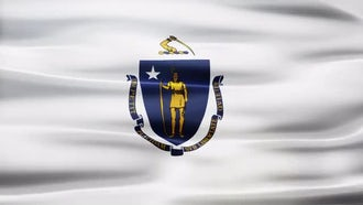 Massachusetts Flag: Motion Graphics