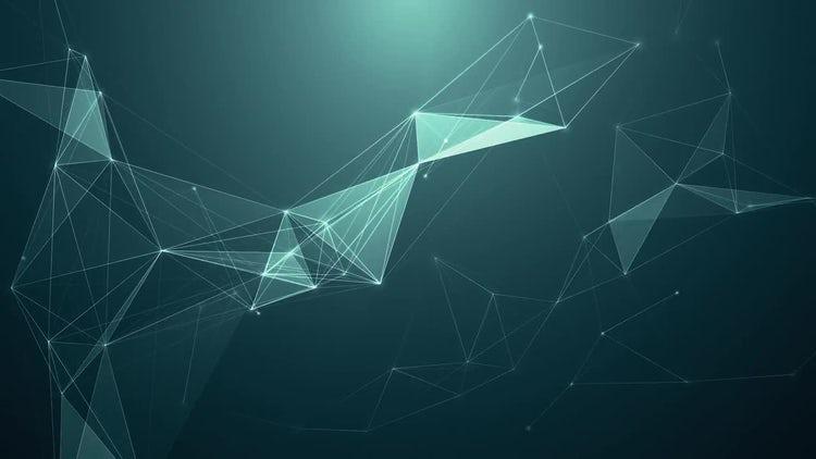 Aqua Plexus Background: Stock Motion Graphics