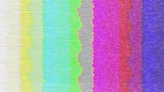 Old TV Color Bars: Motion Graphics