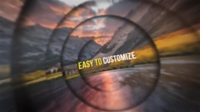 Circle Slideshow: After Effects Templates