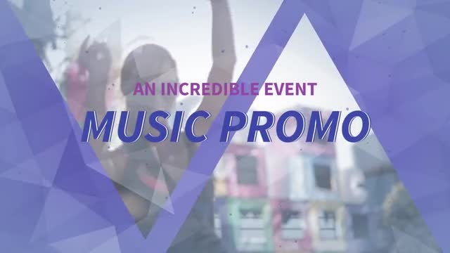 Music Promo: After Effects Templates