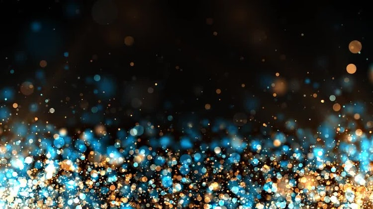 Glitter Particles Background: Motion Graphics