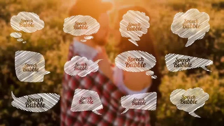 Speech Bubble Pack: After Effects Templates