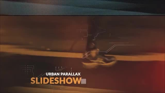 Urban Parallax Slideshow: After Effects Templates
