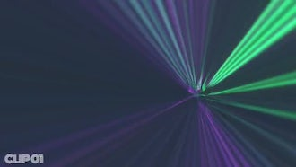 Disco Ray : Motion Graphics