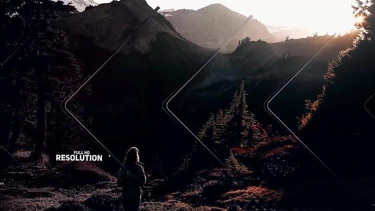 Modern Parallax Slideshow: After Effects Templates