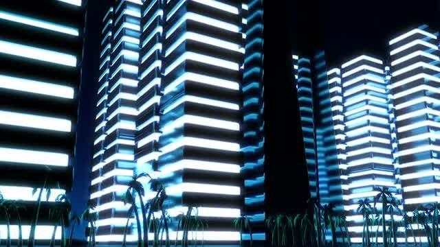 Night Metropolis: Stock Motion Graphics