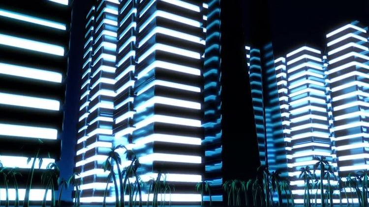 Night Metropolis: Motion Graphics