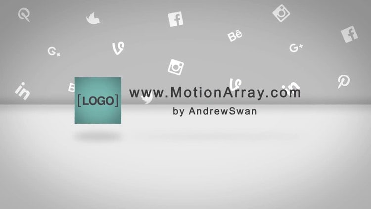 Short Cube Logo Reveal: After Effects Templates