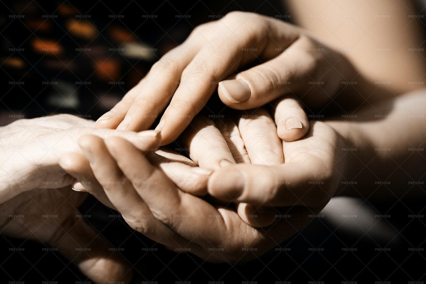 Caring Hands: Stock Photos