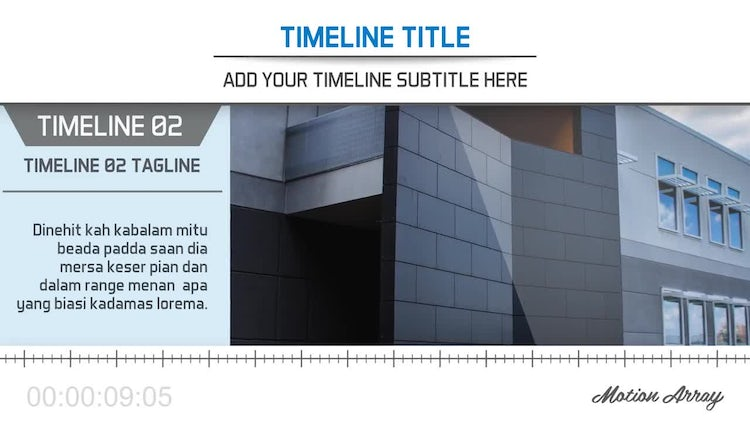The Timeline: After Effects Templates