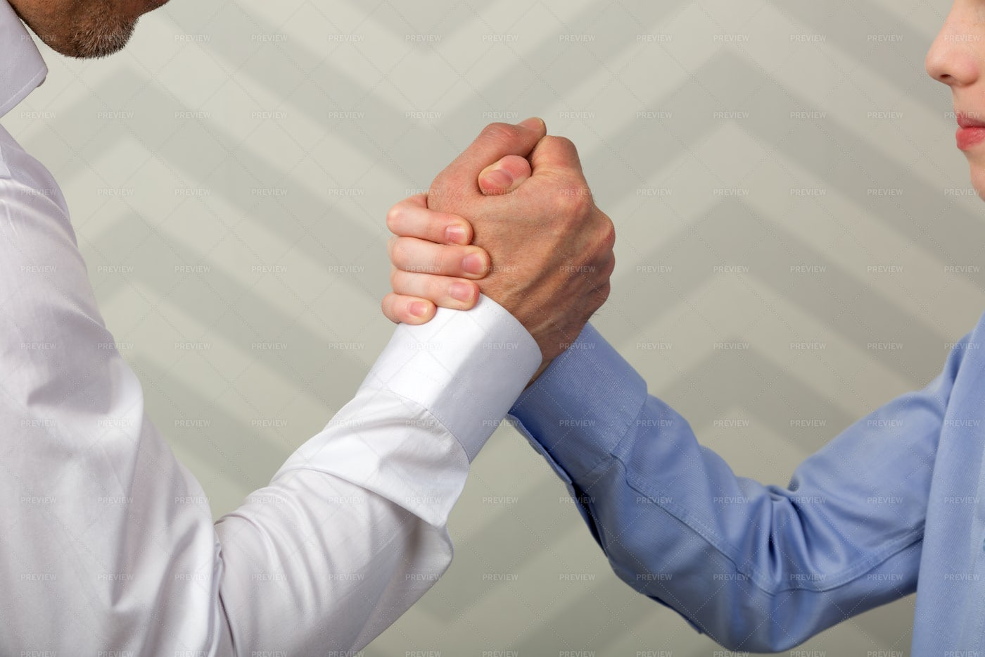 Father And Son Handshake: Stock Photos
