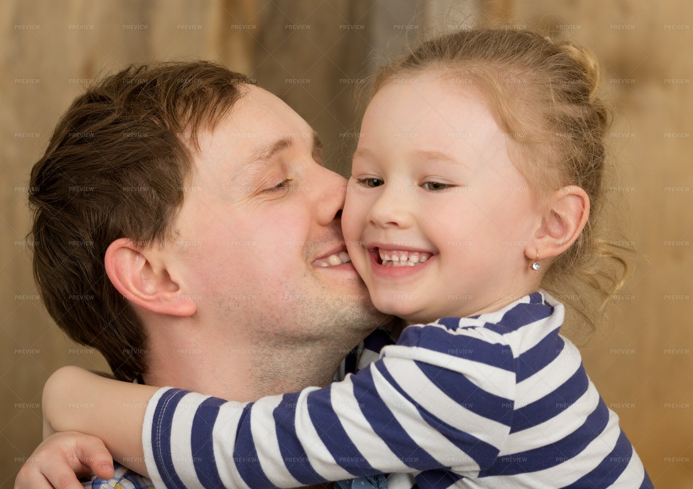 Father And Daughter: Stock Photos