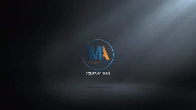 Logo in the dark V_02: After Effects Templates