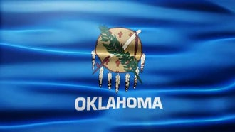 Oklahoma Flag: Motion Graphics