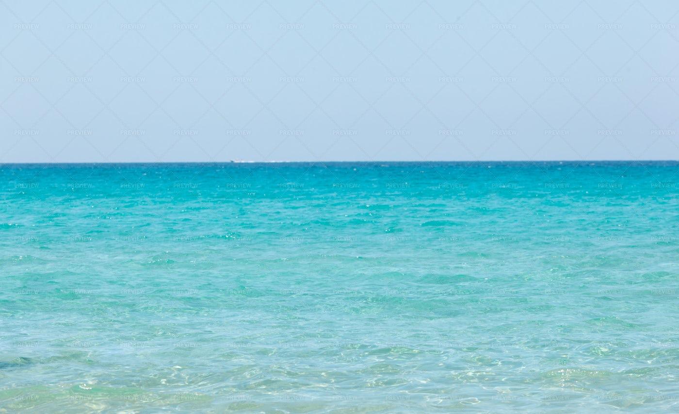 Beautiful Turquoise Sea: Stock Photos