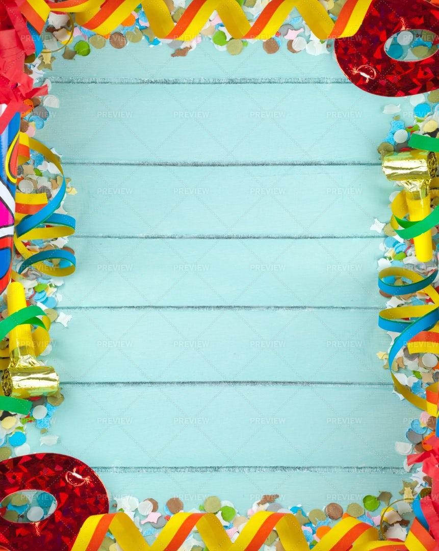 Carnival Frame: Stock Photos