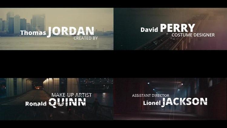 Cinematic Title Sequence: Premiere Pro Templates
