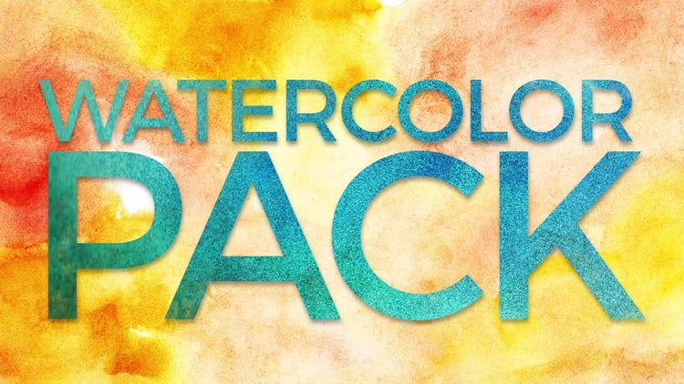 Watercolor Pack: Stock Motion Graphics