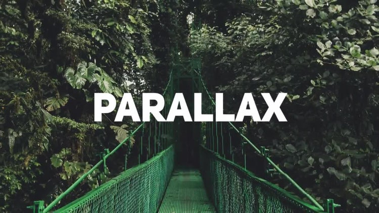 Dynamic Parallax Opener: Premiere Pro Templates