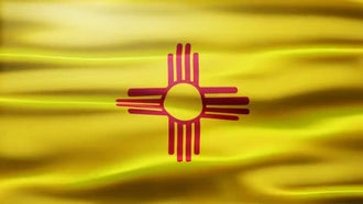 New Mexico Flag: Motion Graphics