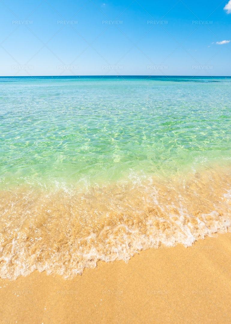 Sky, Sea And Sand: Stock Photos