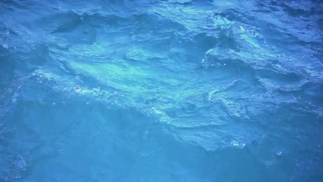 Surface of Water With Waves: Stock Video