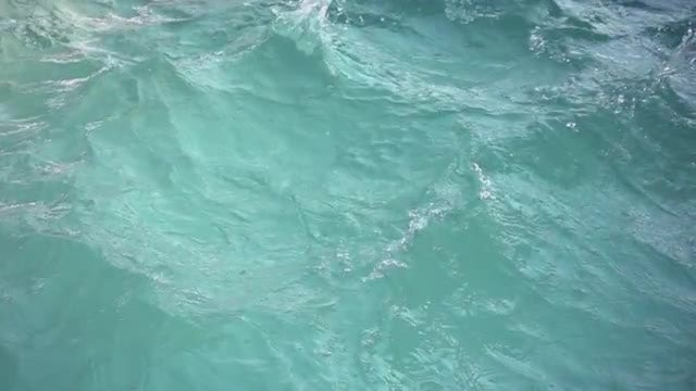 Water With Waves: Stock Video