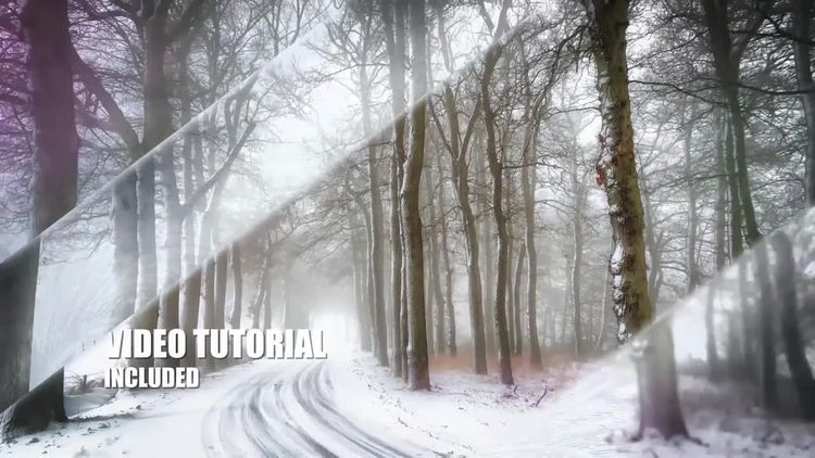 Frost Slideshow Template: After Effects Templates