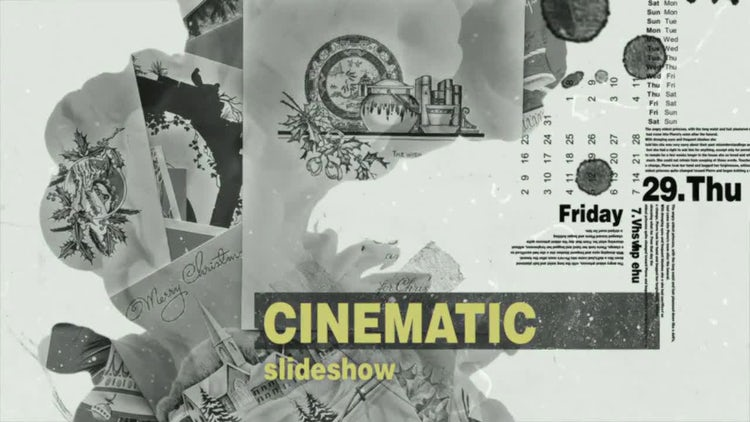 Investigation Slideshow: After Effects Templates
