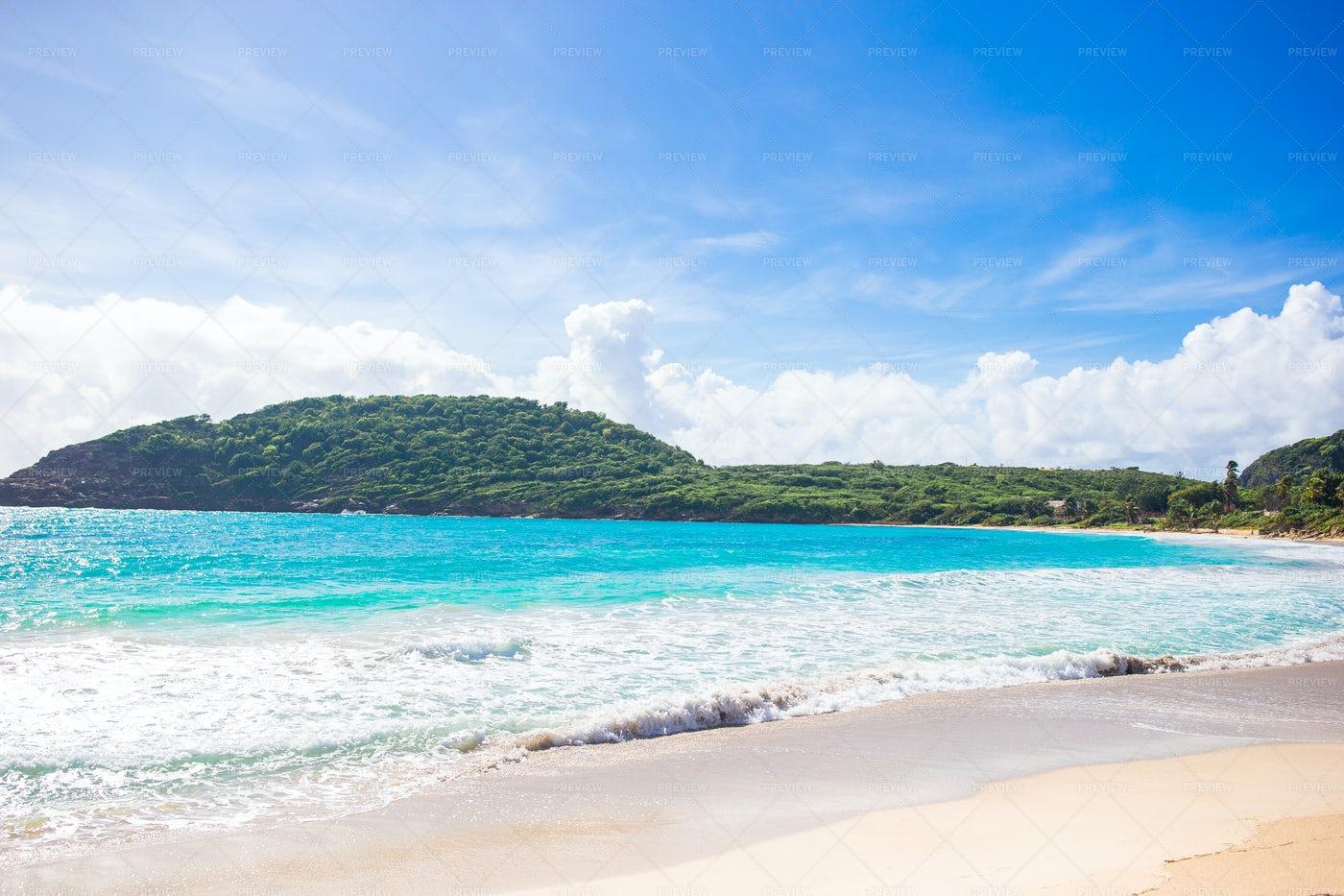 Beautiful Caribbean Beach: Stock Photos