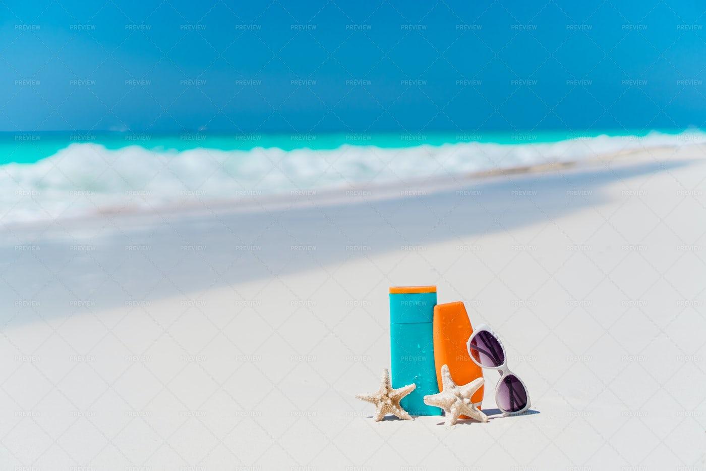 Beach Accessories: Stock Photos