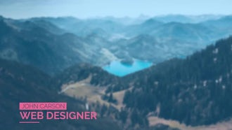 Minimal Lower Thirds: Motion Graphics Templates