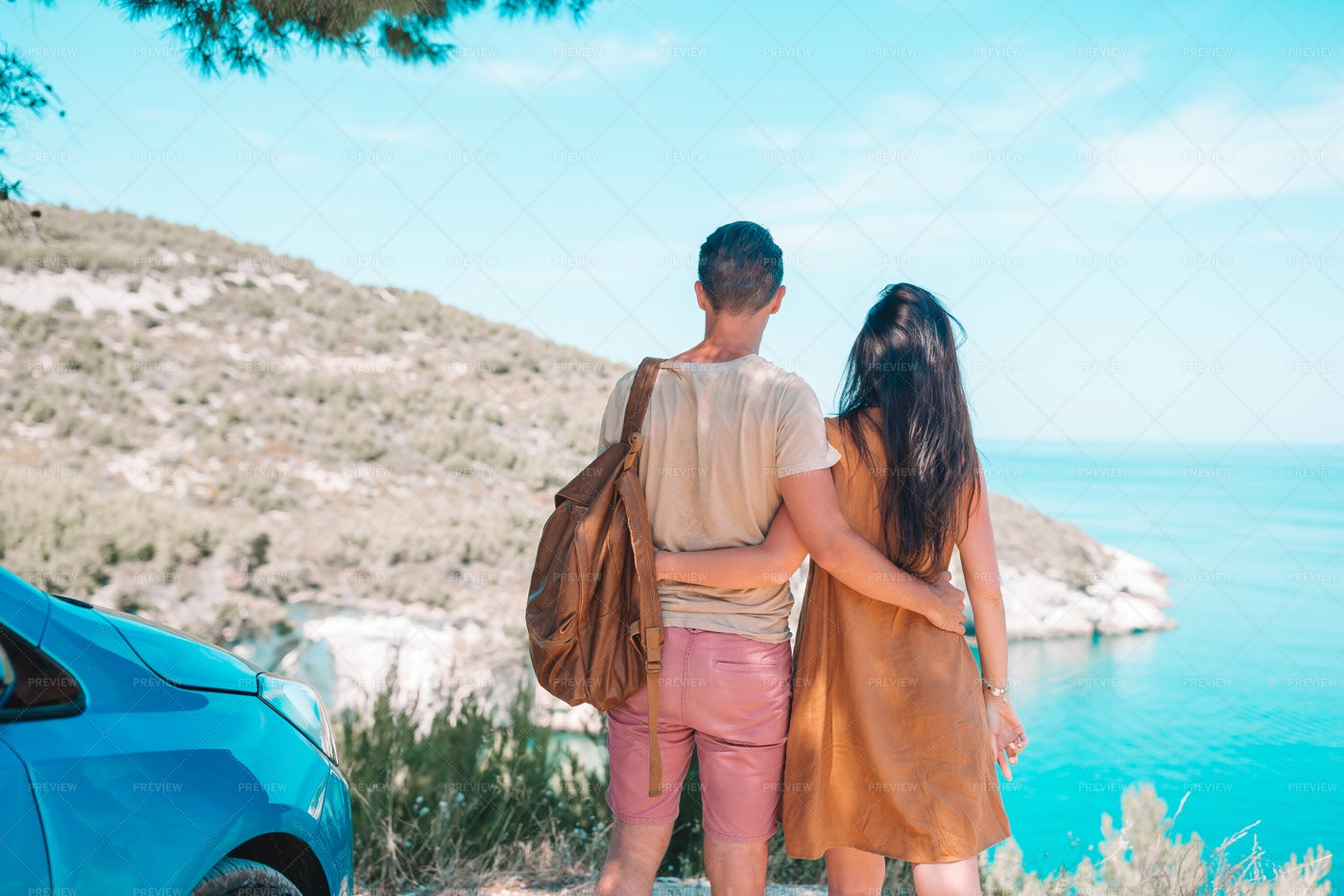 Couple Enjoying The View: Stock Photos