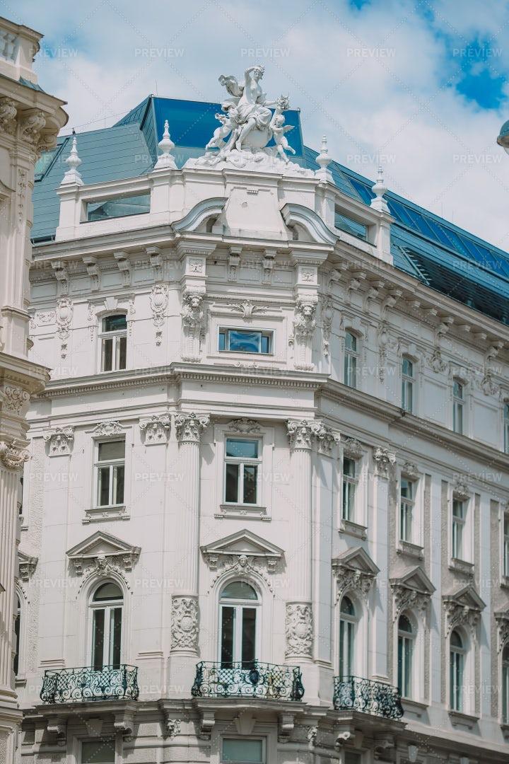 Architecture Of Vienna: Stock Photos